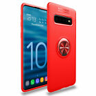 For Samsung Galaxy S9 S10 S8 Plus Note 10 Case Cover With 360° Ring Holder Stand
