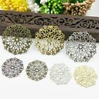 1 Pc Filigree Wraps Metal Charms For Embellishment Scrapbook Jewelry Metal Craft