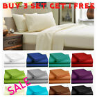 Fitted Bed Sheet Flat Sheets 1900 Series 14 Deep Pocket Wrinkle Free  image