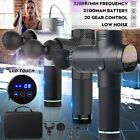 Upgrade Percussive Vibration Therapy Massager Gun Sport Recover LED Touch Screen $72.85 USD on eBay