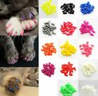 Cat Nail Caps Pet Nails Cover Soft Claw Adhesive Protector Paws Dog Kitten Kitty