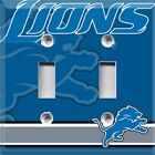Football Detroit Lions Themed Light Switch Cover Choose Your Cover $12.99 USD on eBay