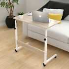 Adjustable Portable Laptop Table Trolley Computer Desk Keyboard Sofa Tray Height
