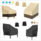 Heavy Duty Stack Garden Chair Cover Waterproof Patio Outdoor Furniture Protect