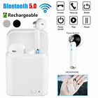 Dual Wireless Bluetooth 5.0 Headset Earbuds Stereo Headphone For iPhone Android
