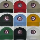 Washington Nationals Polo Style Cap ⚾Hat ⚾CLASSIC MLB PATCH/LOGO ⚾12 COLORS ⚾NEW