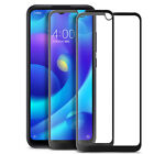 For Xiaomi Redmi Note 8 Pro Caseswill FULL COVER Tempered Glass Screen Protector