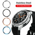 For Samsung Galaxy Watch 46MM Bezel Ring Adhesive Cover Anti Scratch Metal New