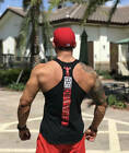 Mens Bodybuilding Stringer Tank Top Gym Workout Vest Fitness Clothing
