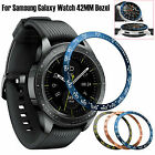 2PCS 46MM Bezel Ring Adhesive Cover Anti Scratch Metal For Samsung Galaxy Watch image