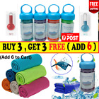Instant Cooling Towel ICE Cold Golf Cycling Jogging Gym Sports Outdoor Towel R