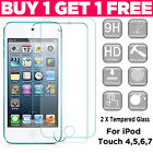'Tempered Glass Film Screen Protector For Apple Ipod Touch 7th 6th 5th Generation