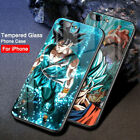 Tempered Glass Case Cover Anime Dragon Ball Z Goku For iPhone X XS XR 11 12 Pro