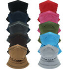 Multi-fun Face Shield Sun Mask Neck Gaiter Balaclava Fishing Scarf Headwear Tube