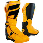 OUTLET New Shift Racing White Label Motocross Boots Yellow Black Botas Enduro