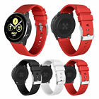 Non-slip Silicone Watch Wrist Band Strap for Samsung Galaxy Watch Active