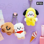 BTS BT21 Official Authentic Goods BABY Flat Fur Series Standing Keyring