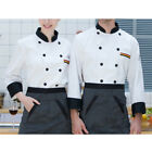 Mens /Womens Hotel Chef Uniforms Button Short Sleeve Restaurant Tops Workwear