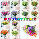 Us Artificial Plants Outdoor Flower Fake Plants Grass Garden Home Decoration