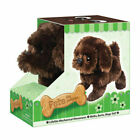 Fun Pet Dogs Toy Battery Operated Walking and Barking Dog Plush Animal GIFT