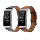 Fashion Leather Replacement Bracelet Strap Watch Band for Fitbit Charge 3 & 3SE