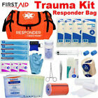 NEW First Aid Kit Parmedic Trauma Bag Family Emergency Medical Survival Kit