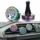 1 Pc Colorful Aroma Essential Oil Diffuser Car Clip Tree of Life Aromatherapy Ne