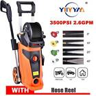 3500PSI High Power Water Electric Pressure Washer 1800W 2.6 GPM Cleaner Machine