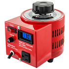 Variac Variable Transforme 0.5/1/2/3KVA LCD Digital Display 0-130V AC Voltage