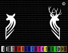 Deer Couple #6 Hunting Car Sticker Window Vinyl Decal Redneck Fishing Doe Buck