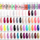 UR SUGAR 30ml Dipping Powder Glitter Dip Liquid Clear Pink Nail Art Starter Kit