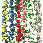 Kyпить 2X 8Ft Artificial Rose Garland Silk Flower Hanging Vine Ivy Wedding Floral Decor на еВаy.соm