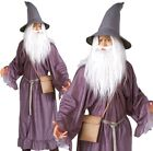 Adult Deluxe GANDALF Fancy Dress Costume Lord of the Rings Halloween Hobbit Mens