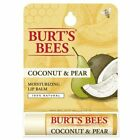 3 Burt's Bees Natural Moisturizing Lip Balm in Strawberry, Honey or Coconut/Pear
