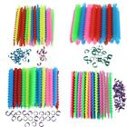 Plastic Long Spiral Hair Perm Rod Hairdressing Styling Curler Rollers Tool H1