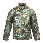 REALTREE EDGE MEN'S INSULATED CAMO JACKET ZIP FRONT THINSULATE WATER RESISTANT