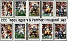 1995 Topps Inaugural Logo - Set Break # 1-248 Both Versions Jaguars $3.75 USD on eBay
