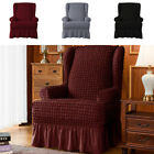 Pleated Skirt Stretch Chair Cover Hotel Wedding Dining Room Banquet Slipcover