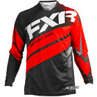 New FXR Racing Mission MX Black Red White Motocross Jersey Honda Enduro OUTLET
