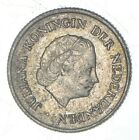 1967 Netherlands Antilles 1/4 Gulden - World Silver Coin *269