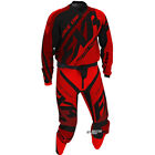 Equipement Tenue Motocross FXR Racing MX Clutch Prime Noir Rouge Enduro PROMO