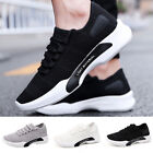 Men's Trainers Sneakers Breathable Fitness Gym Sport Athletic Running Mesh Shoes