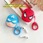 Marvel Superheroes Earphones Case Box Cover For Airpods