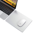 Satechi aluminum mouse pad non-slip rubber lining.