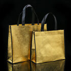 Women Foldable Shopping Bag Large Fabric Non-woven Shoulder Bags Tote Gift Bags