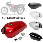 9L/2.4Gallon Motorcycle Cafe Racer Vintage Fuel Gas Tank&Tap Fit for Honda CG125 $142.84 USD on eBay