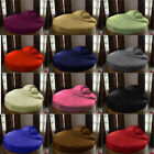 1000 TC Egyptian Cotton 1 PC Round Bed Bed Skirt All Size Solid Colors image