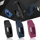 Steel Clip Protector Holder Silicone Case Cover for Fitbit Inspire/Inspire HR