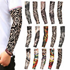 5-10 pcs Fake Temporary Tattoo Sleeves Arm Stockings Tatoo Cool Women Men Unisex