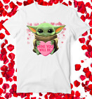 Baby Yoda Star Wars Hearts Shirt / Valentines Day Gift / T-Shirt Tank Top Hood $19.99 USD on eBay